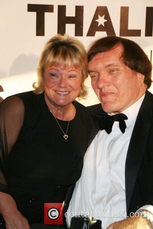 Richard Kiel and Diane Rogers