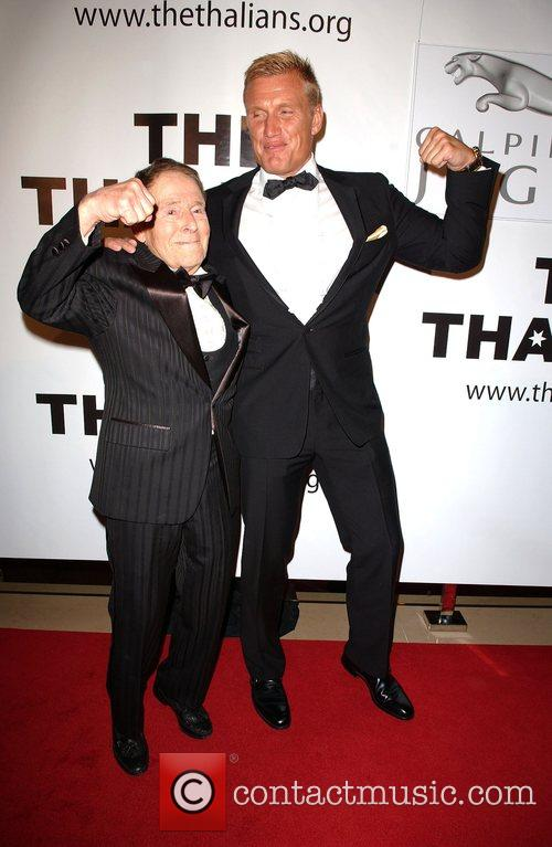 Dolph Lundgren and guest Thalians 52nd Anniversary Gala...