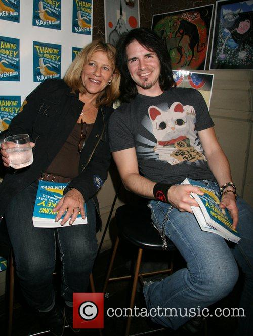 Guest, Hal Sparks 'Thank the Monkey' Book Party...