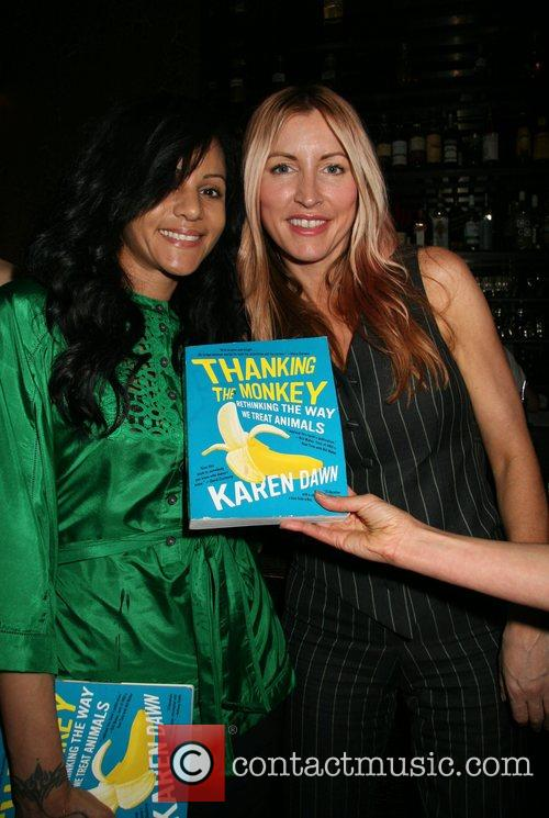 Guest, Heather Mills 'Thank the Monkey' Book Party...