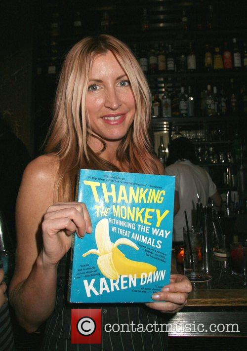 Heather Mills 'Thank the Monkey' Book Party at...