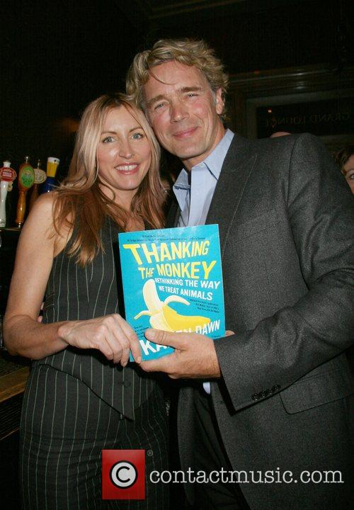 Heather Mills, John Schneider 'Thank the Monkey' Book...