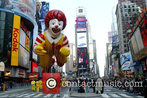 Ronald McDonald The 2007 Macy's Thanksgiving day parade...
