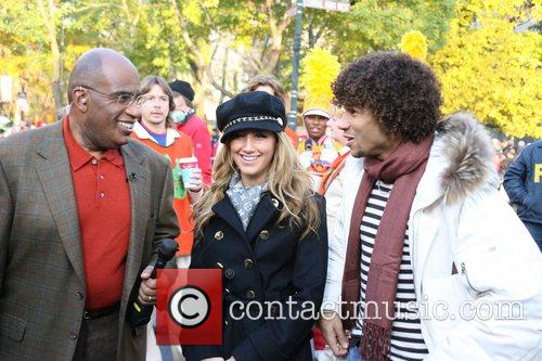 Al Roker and Ashley Tisdale 1