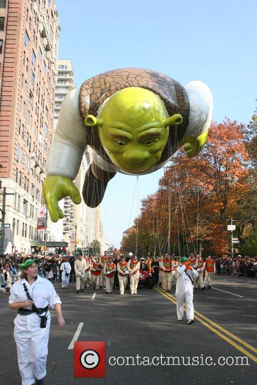 Shrek The 2007 Macy's Thanksgiving Day parade New...