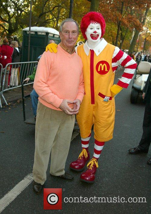 Mayor Michael Bloomberg and Ronald McDonald The 2007...