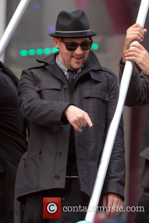 Joel Madden The 2007 Macy's Thanksgiving Day parade...