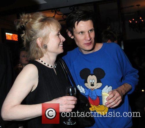 Lindsay Duncan and Matt Smith attends the 'That...