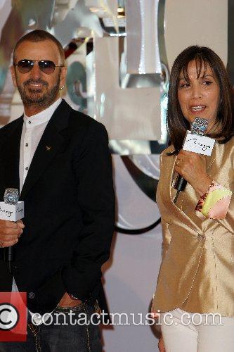 Ringo Starr and Olivia Harrison The Beatles 'Love'...