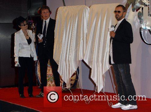 Paul McCartney, Yoko Ono Lennon, Ringo Starr The...