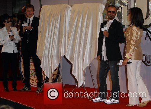 Paul McCartney, Yoko Ono Lennon, Ringo Starr, Olivia...