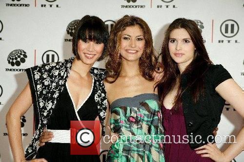 Denise, Milla, Fiona (Germany's Next Topmodel contestants),...