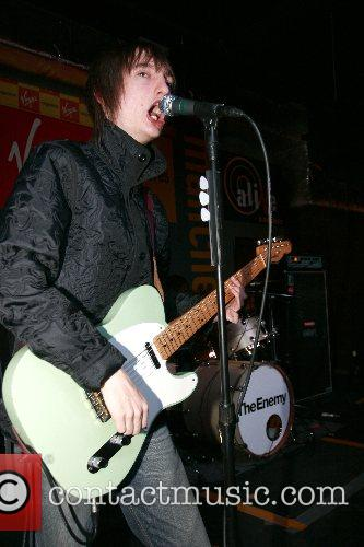 Tom of 'The Enemy'  playing live at...