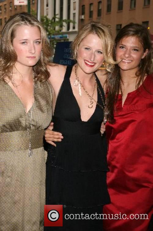 Mamie Gummer and guests The Cinema Society hosts...