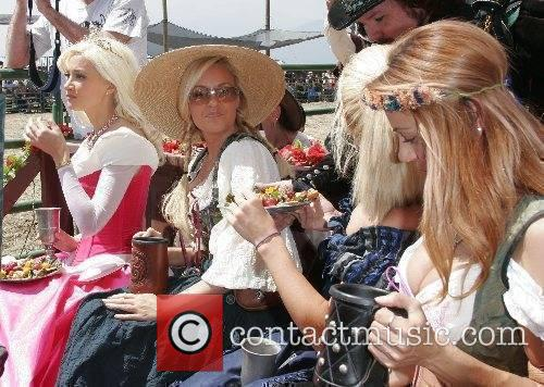 Holly Madion, Bridget Marquardt, Kendra Wilkon and friend...