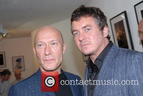 Rick Buckler and Shane Richie Private viewing of...