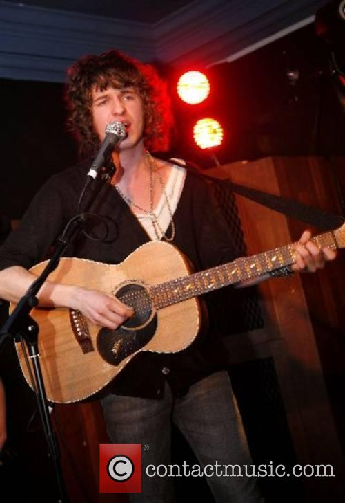Luke Pritchard from the Kooks performs live at...
