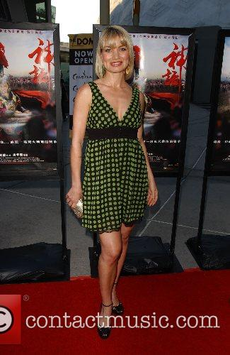 Rena Riffel Los Angeles Film Premiere of '...