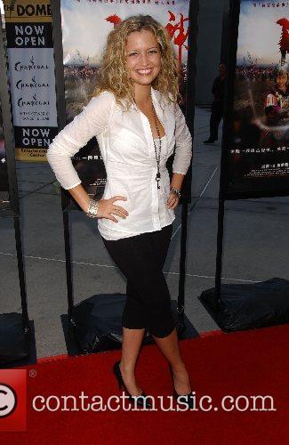 Lauren Storm Los Angeles Film Premiere of '...