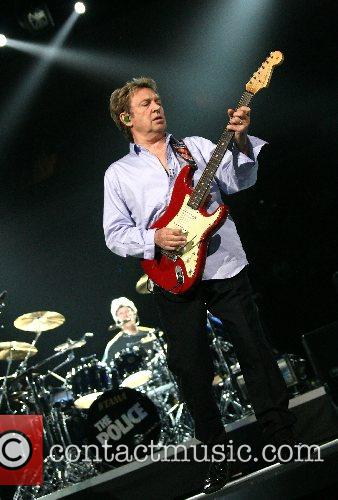 Andy Summers The Police performing live at The...