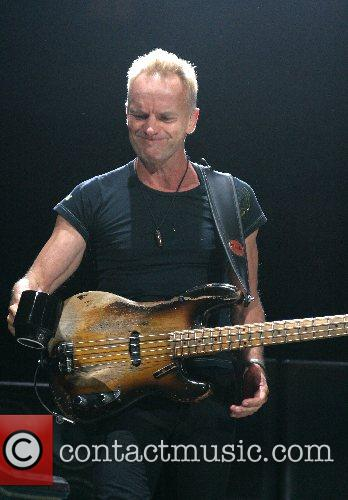 Sting The Police performing live at The Toyota...