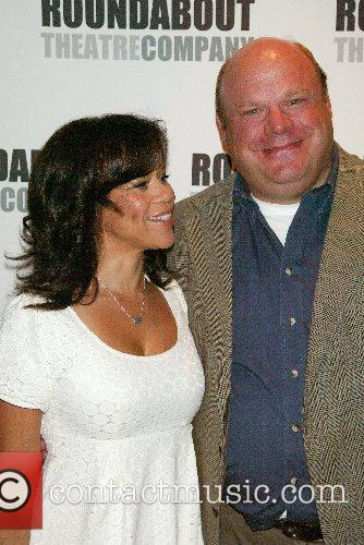 Rosie Perez and Kevin Chamberlin Broadway production of...