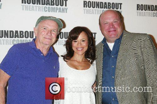 Terrence McNally, Rosie Perez and Kevin Chamberlin Broadway...