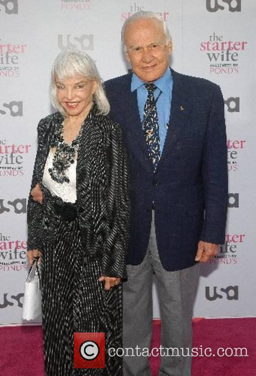 Buzz Aldrin and wife USA Network presents the...