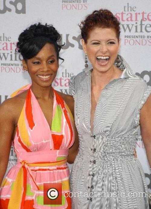 Anika Noni Rose and Debra Messing USA Network...