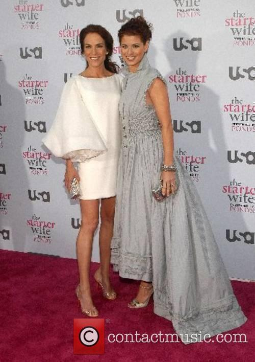 Gigi Levangie Grazer and Debra Messing USA Network...