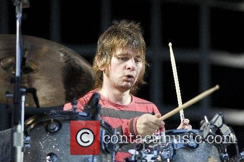 Zak Starkey The Who performing live at The...