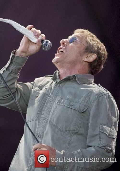 Roger Daltrey The Who performing live at The...