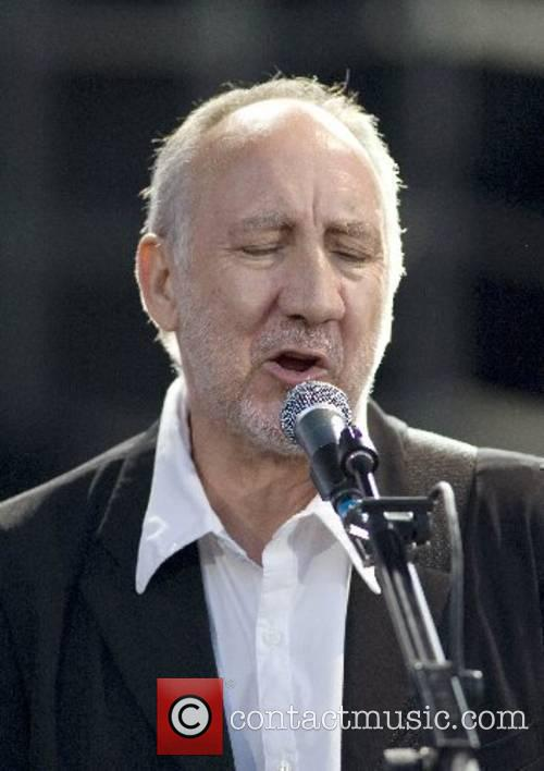 Pete Townshend The Who performing live at The...