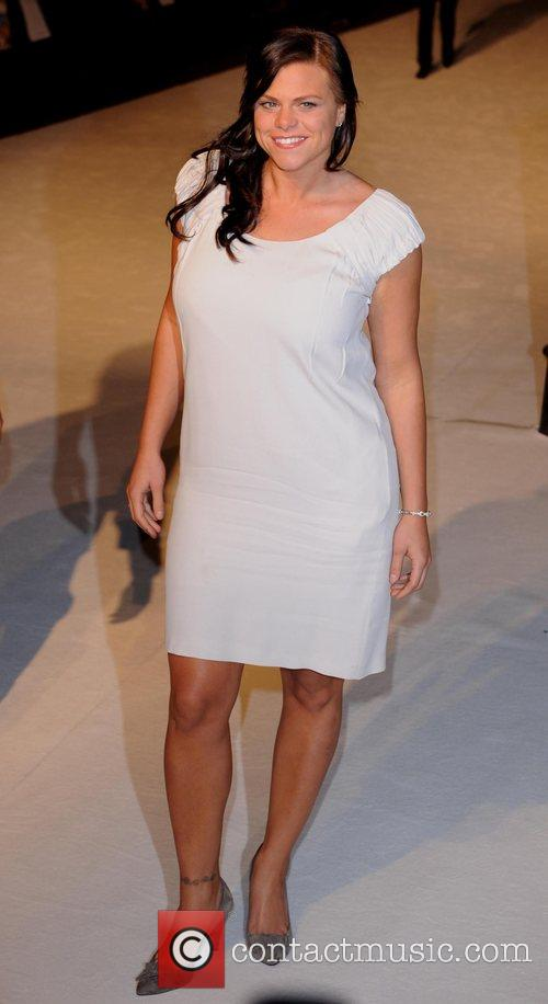 Jade Goody UK premiere of 'The Accidental Husband'...