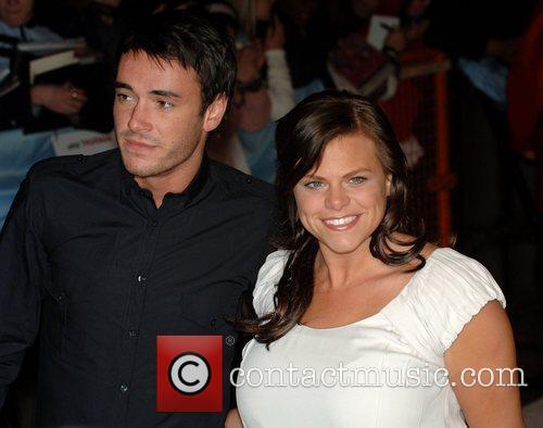 Jack Tweedy and Jade Goody UK premiere of...
