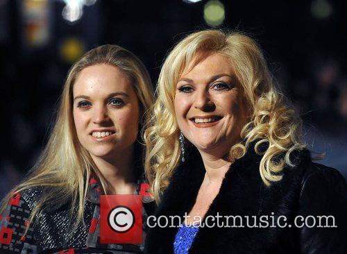 Vanessa Feltz with daughter UK premiere of 'The...