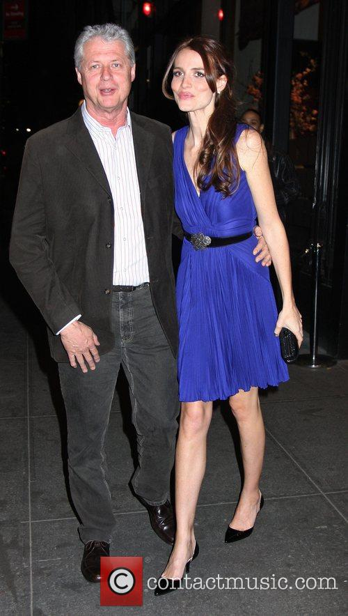 Roger Donaldson and Saffron Burrows 1
