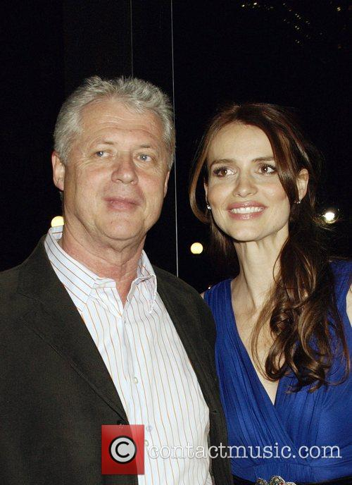 Roger Donaldson and Saffron Burrows 2