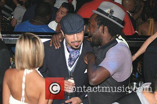 Will.i.am of Black Eyed Peas partying at The...