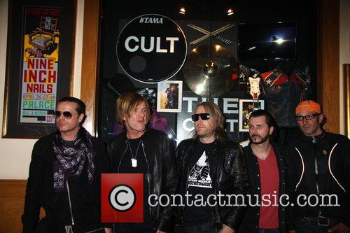 Ian Astbury, Billy Duffy, John Tempesta, Mike Dimkitch and Chris Wyse