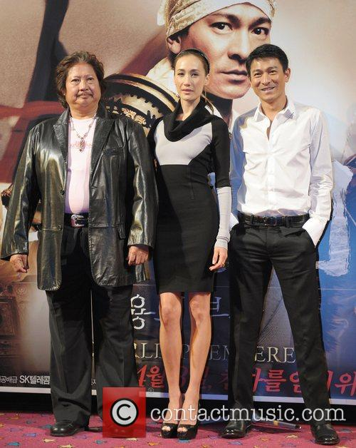 Sammo Hung Kam-bo and Andy Lau