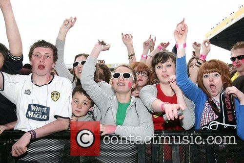 The Enemy perform at Leeds Elland Road Stadium