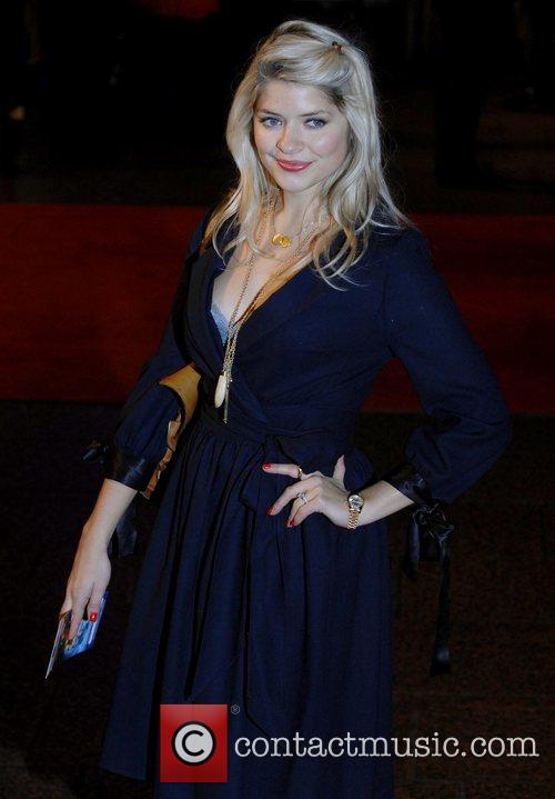 Holly Willoughby  The Golden Compass World Premiere...