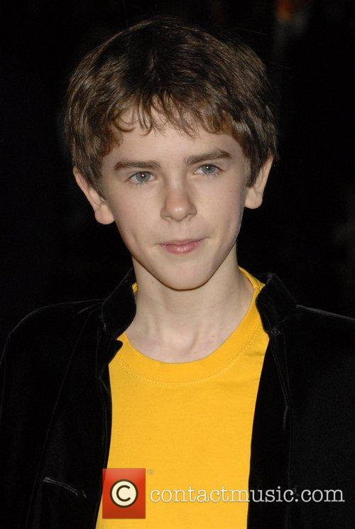 Freddie Highmore, Odeon Leicester Square
