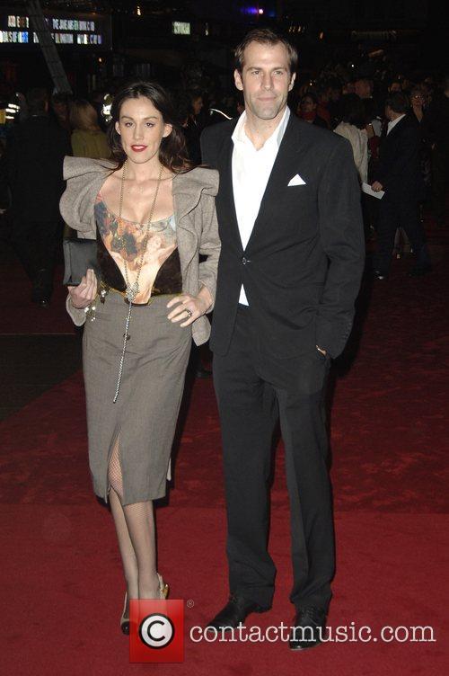 Greg Rusedski and Lucy Rusedski 'The Golden Compass'...