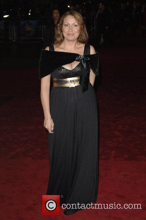 X-Factor contestant Niki Evans 'The Golden Compass' World...