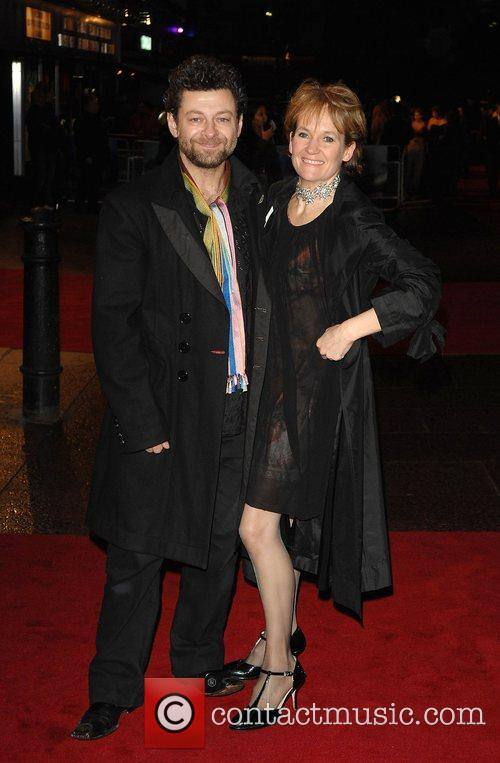 Andy Serkis and guest World Premiere of 'The...