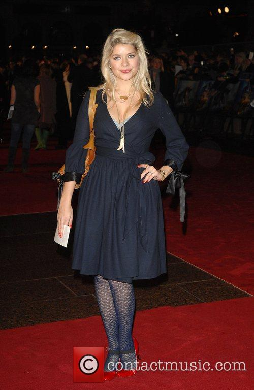 Holly Willoughby World Premiere of 'The Golden Compass'...