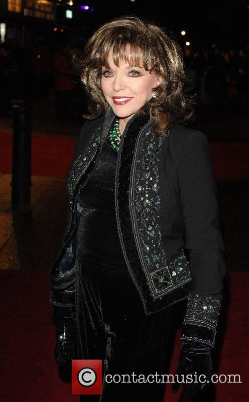Joan Collins World Premiere of 'The Golden Compass'...