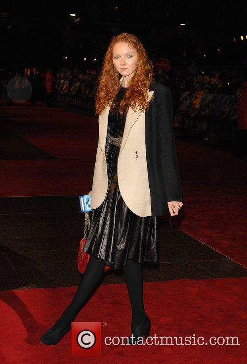 Lily Cole World Premiere of 'The Golden Compass'...